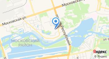 Студия натяжных потолков Апельсин на карте