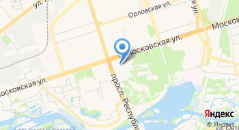 Отдел Образования, Спорта и Туризма Администрации Московского района Г Бреста на карте