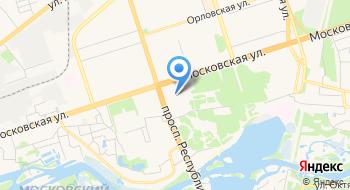 Администрация Московского района Г Бреста на карте