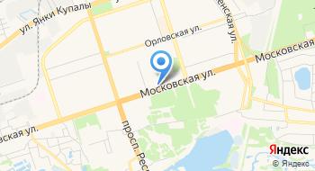 Белгазпромбанк на карте