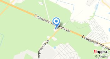 АГНКС Брест-2 Газпром Трансгаз Беларусь на карте