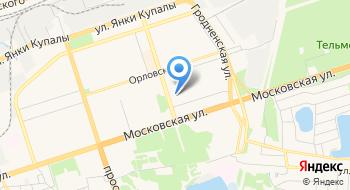 Автопосылка Курьерская Служба ИП Глущук Н.Ф. на карте