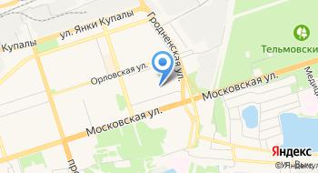 Ясли-сад-начальная школа № 8 УПК ГУО на карте