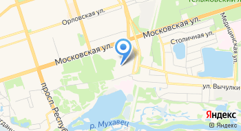 Детский сад-Начальная школа №6 УПК ГУО на карте