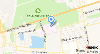 Больница Областная Брестская УЗ на карте