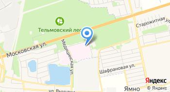 Диспансер Кожно-венерологический Брестский Областной УЗ на карте