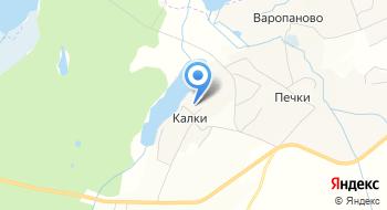 Калацкое на карте
