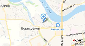 Апартаменты на Владимирской на карте