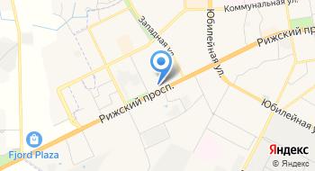 Вектор, рекламно-производственная фирма на карте