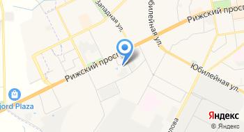 Псков-Лада на карте