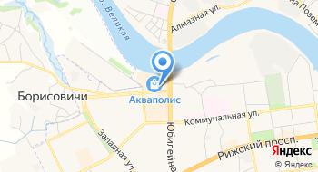 Акваполис, торгово-развлекательный центр на карте