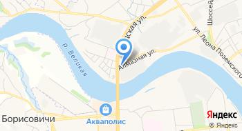 Авторемгаз на карте
