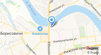 Отдел государственного контроля, надзора и рыбоохраны по Псковской области на карте