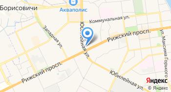Pskov City Hostel на карте