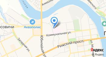 Псковская городская поликлиника на карте