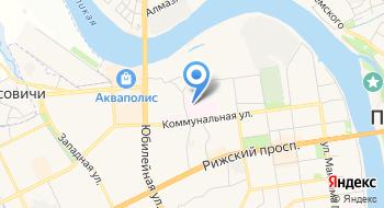 Противотуберкулезный Диспансер Города Пскова на карте