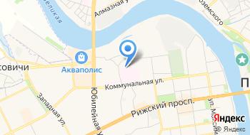 Псковская городская больница, Травматологический пункт на карте