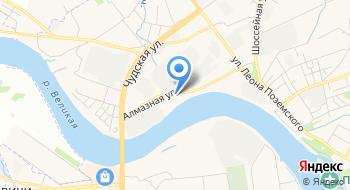 Лаборатория по специальной оценке условий труда, Учебный центр Псков на карте