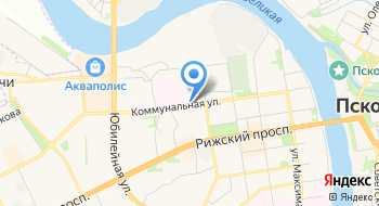 Псков 01 на карте