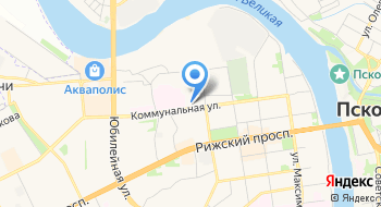 Псковская автошкола ДОСААФ Росиии на карте