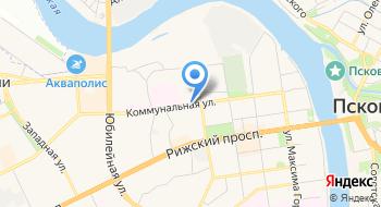 Федерация парашютного спорта Псковской области на карте