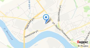 Кабинетоф Псков на карте