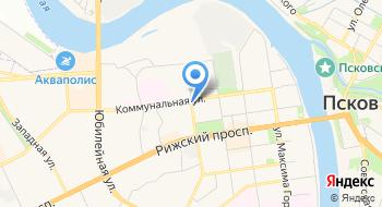 Генеральное Консульство Эстонской Республики в Санкт-Петербурге Псковская канцелярия на карте
