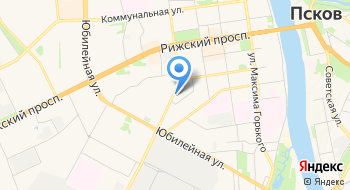Псковский индустриально-технологический техникум Технологическое отделение на карте