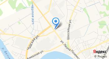 Pskov Diesel, автокомплекс на карте