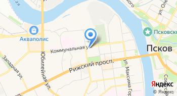 Консульство Латвийской Республики в г. Пскове на карте