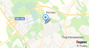 Фабрика мебели P-oof на карте