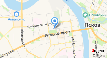 Рижская, автостоянка на карте