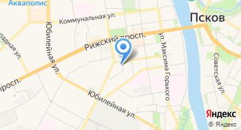 Хит-Ванна Псков на карте