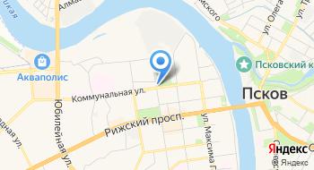 Маркетинговые и социологические исследования Псков на карте