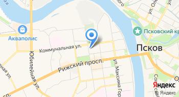 Посуда-Псков на карте