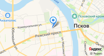 Газета Псковская правда на карте