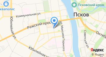 Псковская детская городская поликлиника на карте