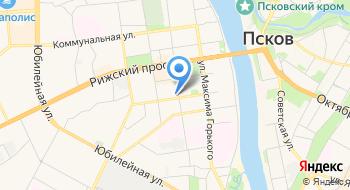 Псковская Лента Новостей на карте