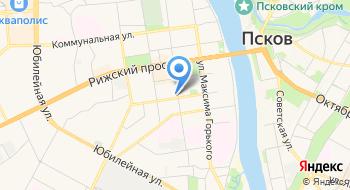 Управление Федеральной миграционной службы по Псковской области на карте