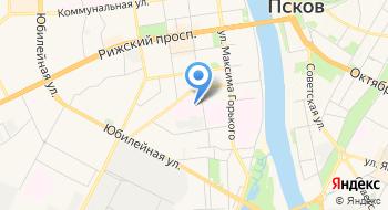 Противотуберкулезный диспансер Псковской области на карте