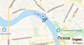 БалтОхранСоюз, охранное агентство на карте