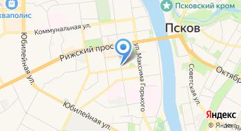 Псковский городской суд на карте