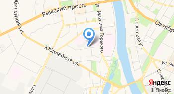 Рижский, торговый двор на карте