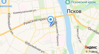 Псковский областной суд на карте