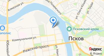 Газовое предприятие Псковрегионгаз абонентский отдел на карте