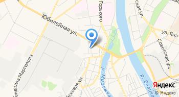 Псковский гарнизонный военный суд на карте