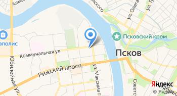 Иноар Псков на карте
