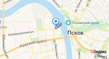 БЦ Новая Слобода на карте