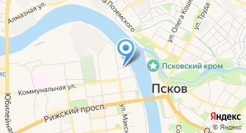 Государственное бюджетное учреждение здравоохранения Псковской области Станция переливания крови Псковской области на карте