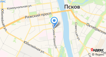 Управление государственного автодорожного надзора по Псковской области Федеральной службы по надзору в сфере транспорта на карте